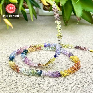 Multi Sapphire 4mm Faceted...