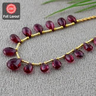 Rubellite Beads 10.5-15.5mm...