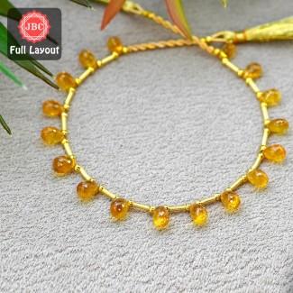 Yellow Sapphire 6.5-8.5mm...