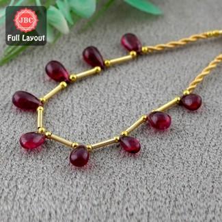 Rubellite Beads 8.5-10.5mm...