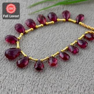 Rubellite Beads 10-14mm...
