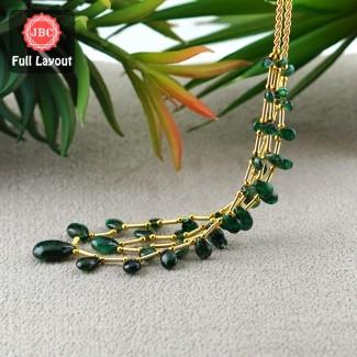 Emerald 6-15mm Smooth Pear...